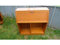 Solid wood bureau