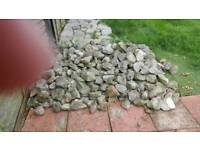 Rockery and concrete slabs free BUYER MUST COLLECT