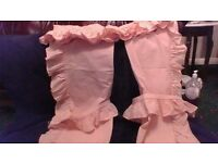 BEDROOM CURTAINS in PEACH COLOUR