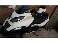 2006 Piaggio MP3 250cc 3 Wheeled Scooter
