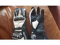 Motorbike gloves Ladies size L