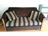 2 x Sofa bed