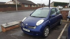 Low Millage 2005 Nissan Micra