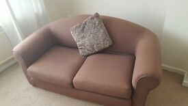 Brown Sofa Bed £100 ono