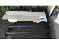 DS 3 Original Roof Bars and Receiver Strips