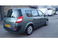 7 SEATER GRAND SCENIC 1.6 MANUAL IN TOP CONDITION. LONG MOT. HPI CLEAR. PREVIOUS MOTS AVAILABLE
