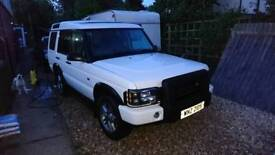 Land rover discovery td5 need gone this weekend