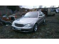 Mercedes s320 diesel spares or repairs