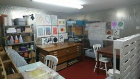 Artist Studio Space to Rent - Leith Walk
