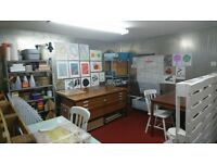 Artist Studio Space to Rent - Leith Walk