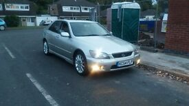 Lexus is200 £1300 or swap bmw e36/e46/e39 saab turbo audi a3/a4 Mercedes ml