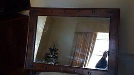 Large ornimental mirror