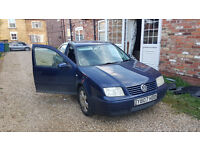 VW Bora Spares or Repairs 1.9TDi
