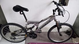 Kamikaze mountain bike 18 speed
