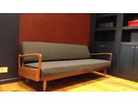 Greaves & Thomas 1960s Vintage Sofa Bed
