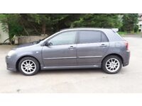 Toyota Corolla e12 SR T-sport 16inch alloy wheels and tyres for sale £200