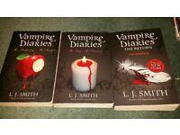 Vampire Diaries books 1-5