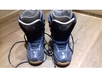 Blue ladies Nitro snowboard boots - site 6