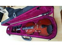 1/2 Size Violin - Primavera with bow and case