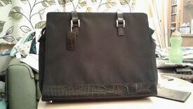 Ladies Marks and Spencer black handbag .