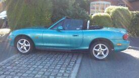 Enjoy the Sun! Mazda MX5 1.6 mk2 2003 67566miles