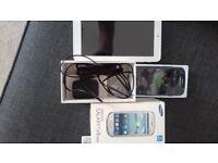 Samsung mini 3 and Alcatel tablet