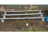 Heavy duty roof bars for Renault Trafic/Vauxhall Vivaro /Nissan Primastar 2001-14