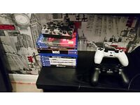 Boxed playstation 4 with games plus home pc lenova
