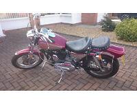 1980 Harley Davidson 1000 sportster ironhead