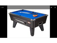 2 Supreme Winner Pool tables, refurbished, delivered