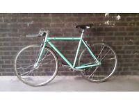 Bespoke Single Speed Road Bike Size 54