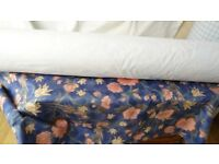 CURTAIN/UPHOLSTERY FABRIC WATER REPELLENT BLACKOUT ON THE ROLL