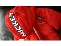 BNWT Mickey Mouse jacket 9-12m