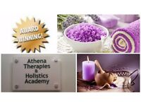Part Time Complementary Massage Therapist Required at Athena Therapies & Holistics Academy, Glasgow