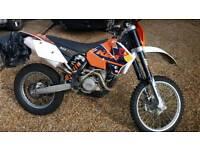 Ktm motocross enduro exc 525cc
