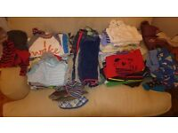 Bumper Bag of Clothing 9-12 months (53 items)