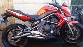 Kawasaki er6n 2009 650cc £2000