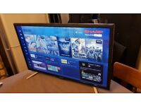 BRAND NEW BOXED SHARP 24-inch Smart FULL HD 1080P LED TV,built in Wifi,Freeview PLAY,Fully Working