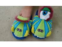 Kid monster stomp slippers fashion footwear