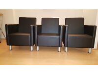 Luxury Reception Chairs - 3 Available
