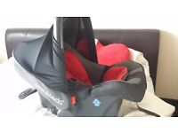 Phils and Teds 3 IN 1 Pram Travel System Car seat