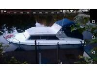 Boat relcraft 23 river cruiser with inboard Mercruiser