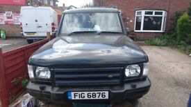land rover discovery 2 lpg spares or repair