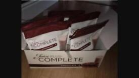 JUICE PLUS COMPLETE CHOCOLATE SHAKES X 8 POUCHES £10 each