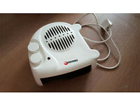 Portable Electric Floor Fan Heater Hot & Cool (Good Condition)