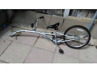 Saferider Tow trailer bike with 20 inch wheel