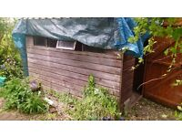 Garden Shed - needs dismantling and new roof felt. Must be gone by Thursday