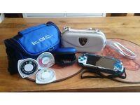 PSP Slim plus accessories for sale.