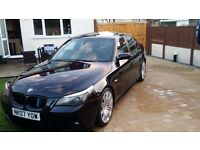 BMW 535d M SPORT,OVER 12K WORTH OF FACTORY EXTRAS P/X POSSIBLE