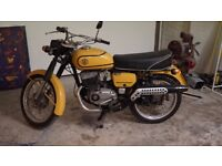 JAWA CZ 175 1975 2-stroke classic motorbike motorcycle